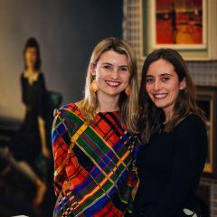 Isabella Baker and Emma McLean